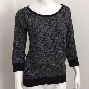 Express knit lace sweater top size XS see through